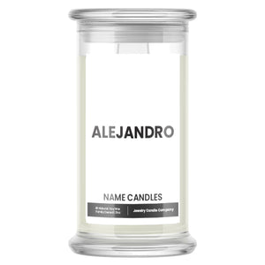 ALEJANDRO Name Candles