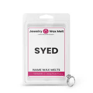 SYED Name Jewelry Wax Melts