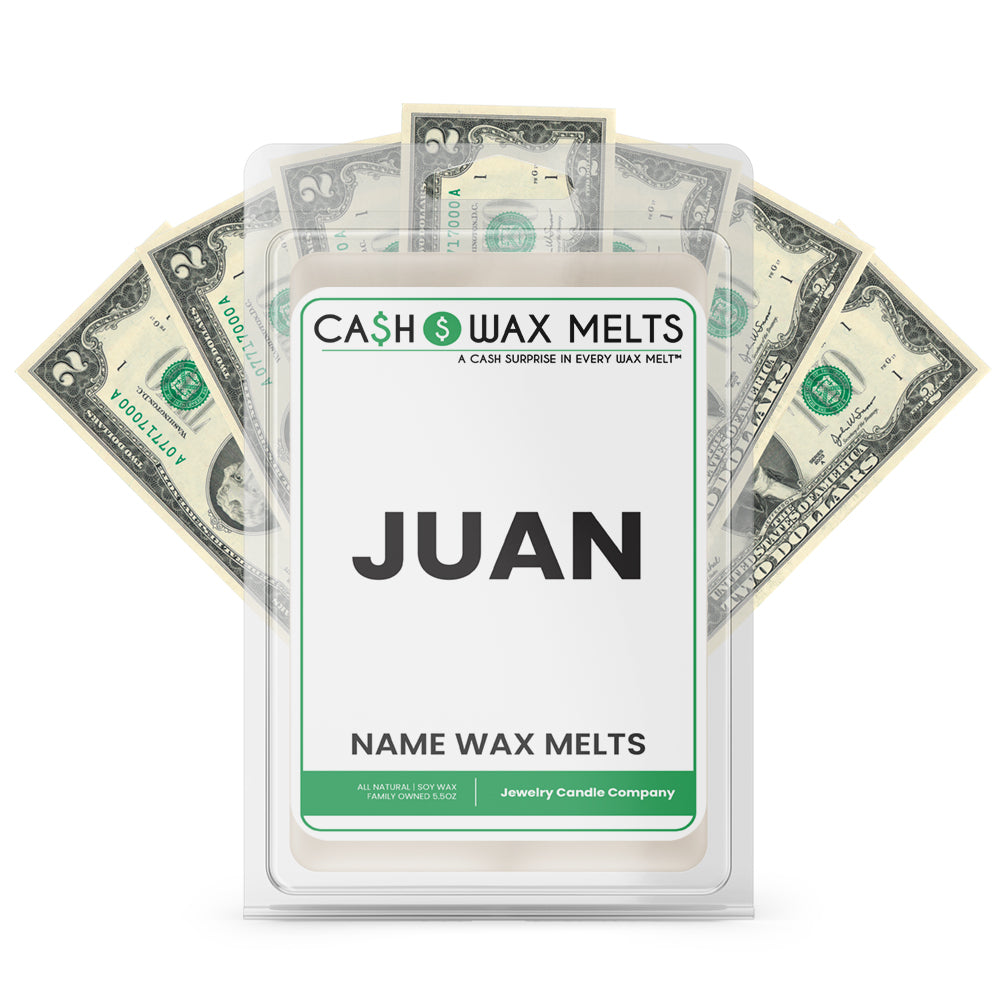 JUAN Name Cash Wax Melts