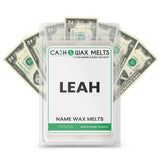 LEAH Name Cash Wax Melts
