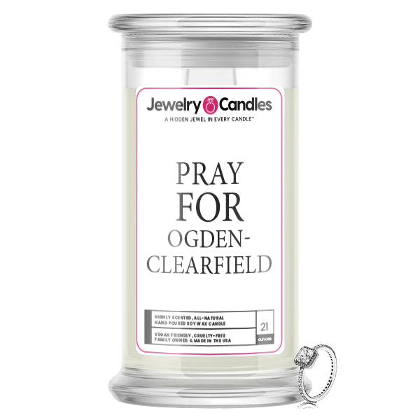 Pray For Ogden Clearfield Jewelry Candle