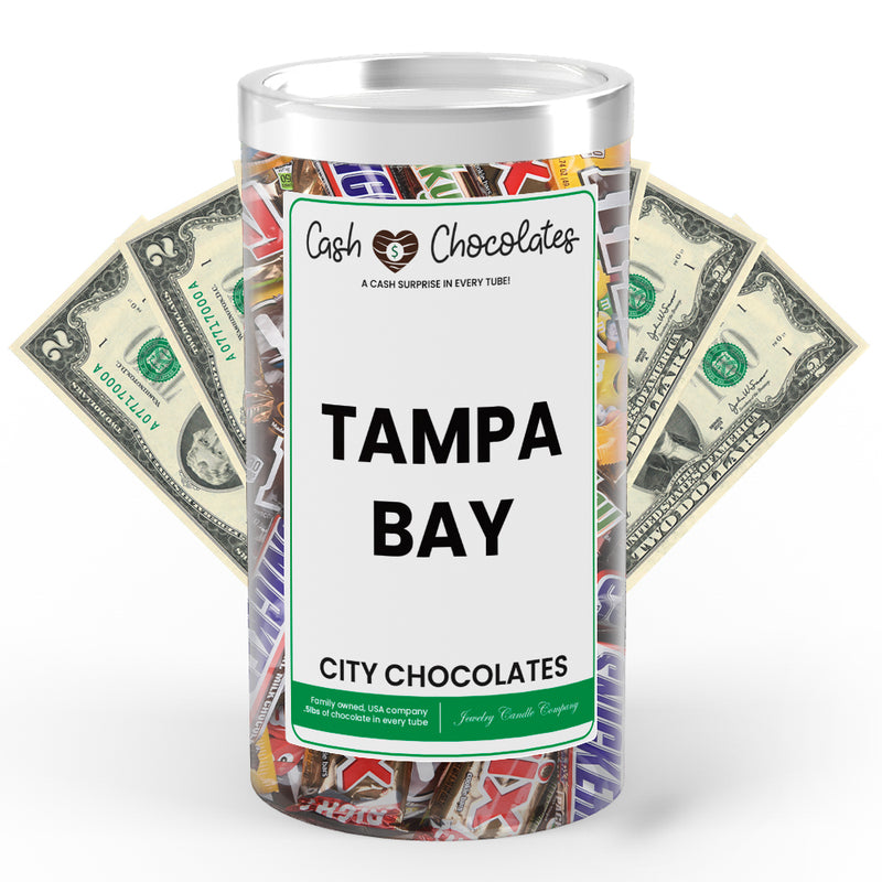 Tampa Bay City Cash Chocolates
