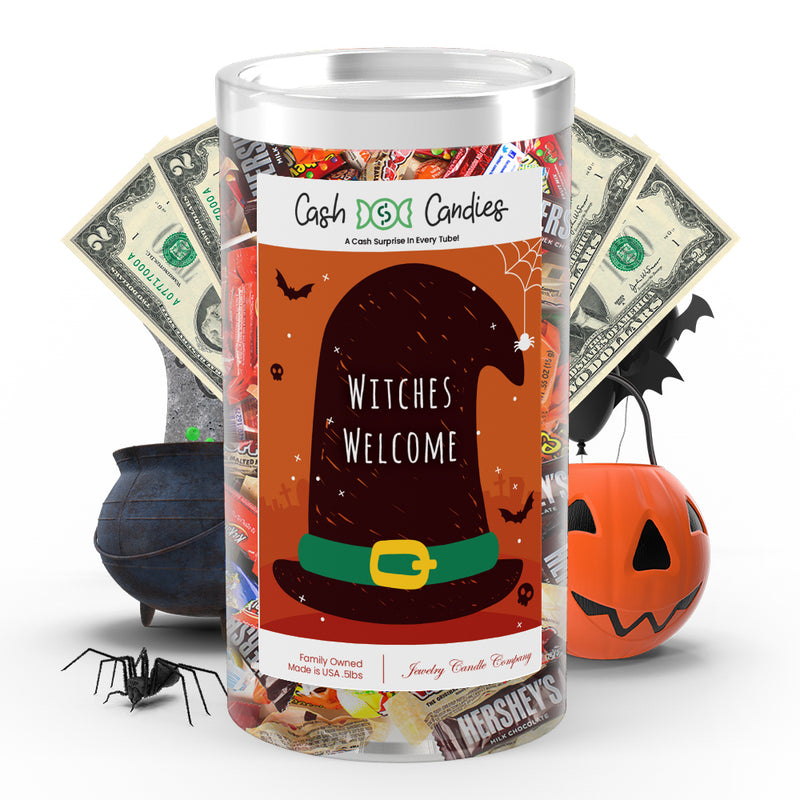 Witches Welcome Cash Candy