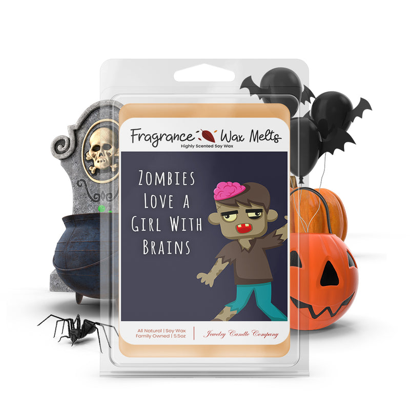 Zombies love a girl with brains Fragrance Wax Melts