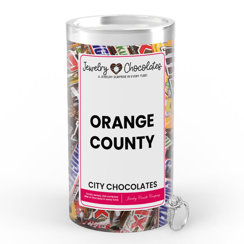 Orange County City Jewelry Chocolates