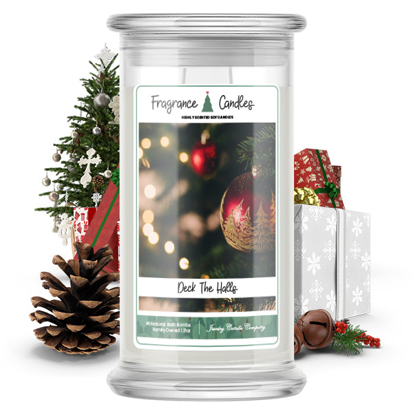 Deck The Halls Fragrance Candle
