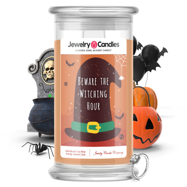 Beware the witching hour Jewelry Candle