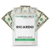 RICARDO Name Cash Wax Melts