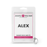 ALEX Name Jewelry Wax Melts