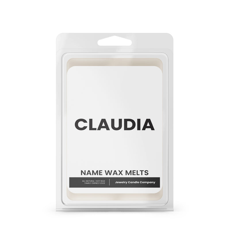 CLAUDIA Name Wax Melts