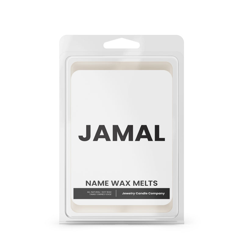 JAMAL Name Wax Melts