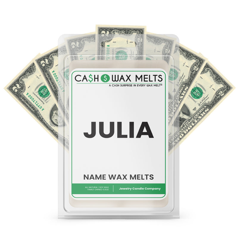 JULIA Name Cash Wax Melts
