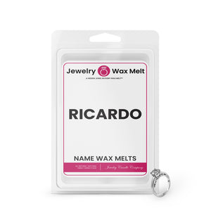 RICARDO Name Jewelry Wax Melts