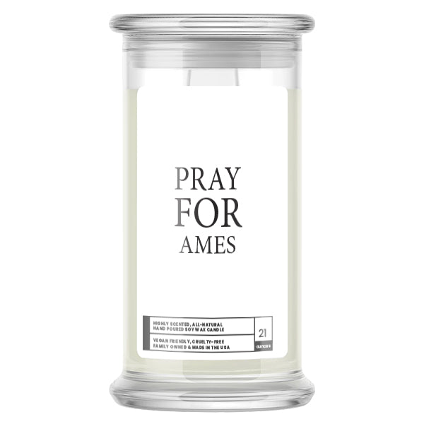 Pray For Ames Candle