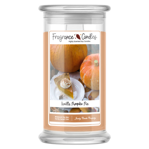 Vanilla Pumpkin Pie Fragrance Candles
