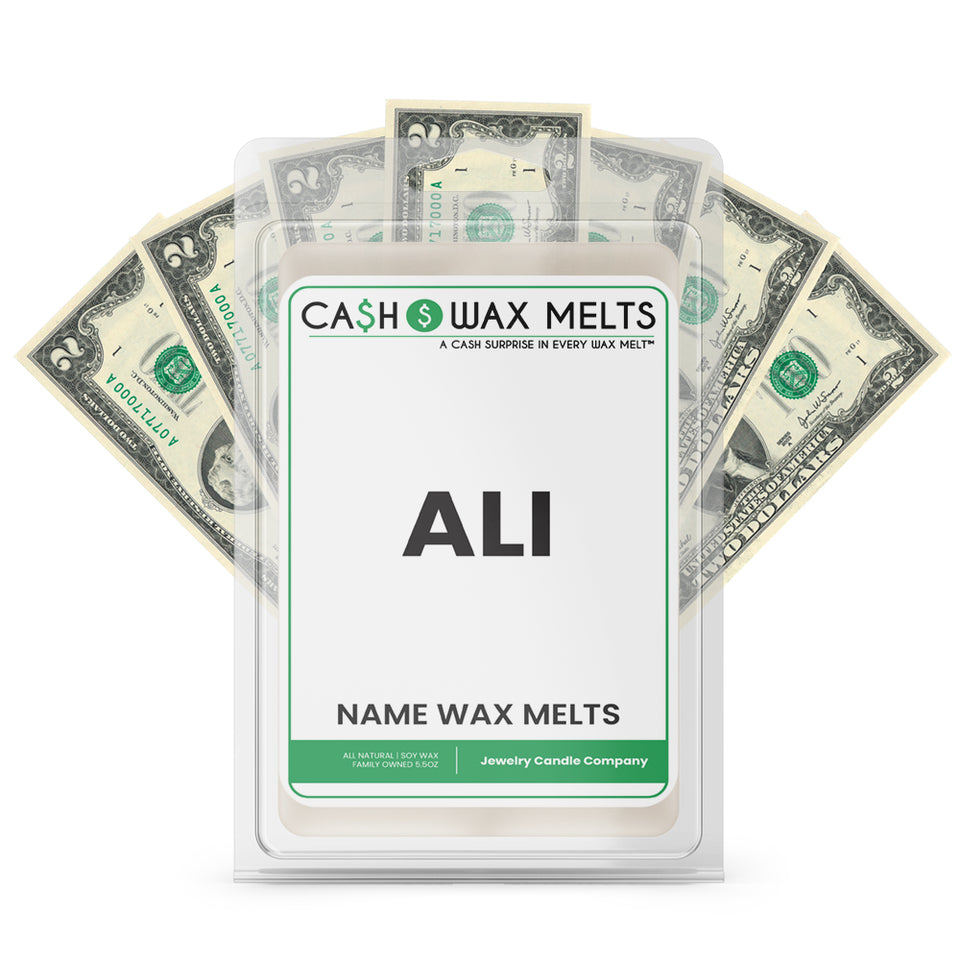 ALI Name Cash Wax Melts