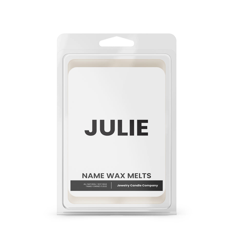 JULIE Name Wax Melts