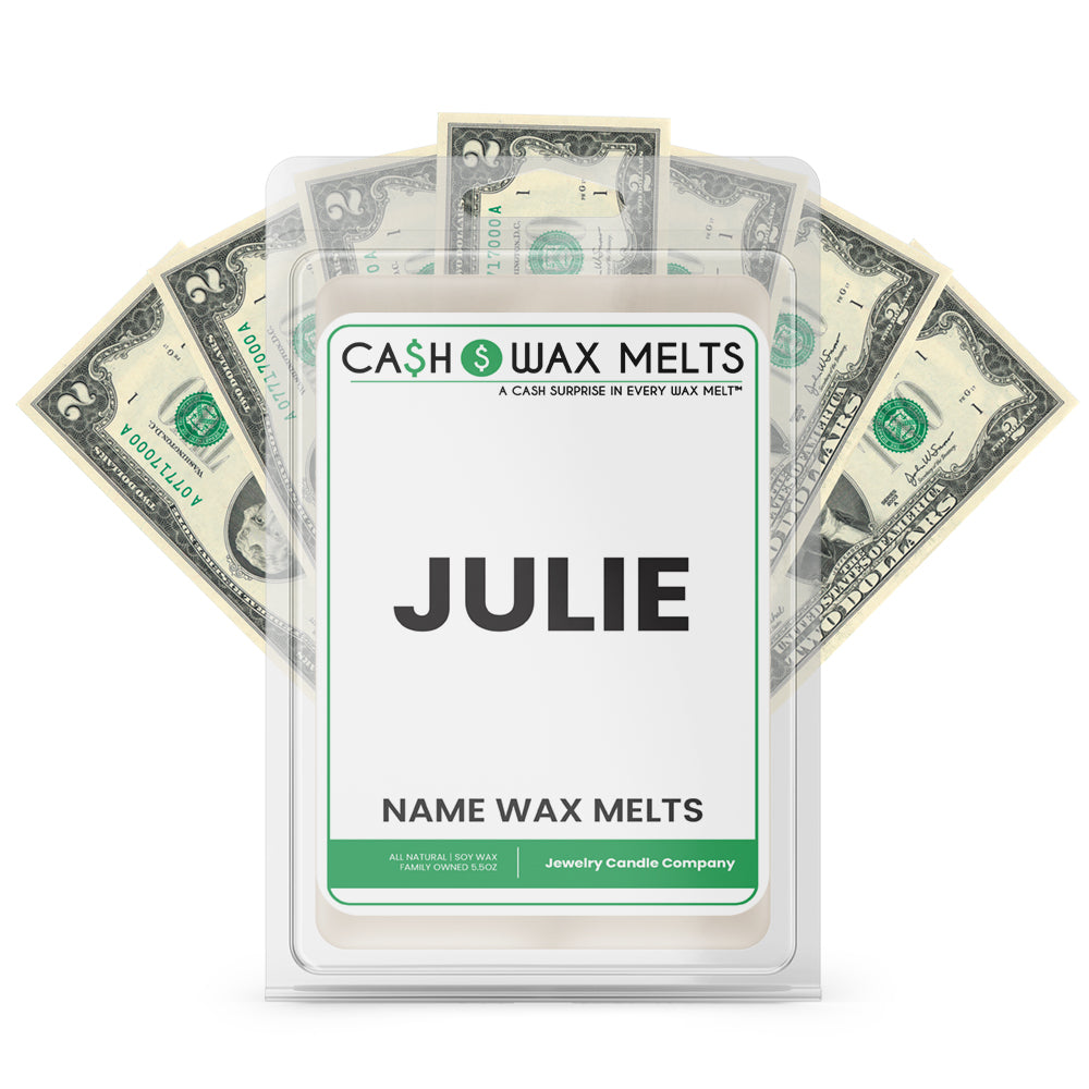 JULIE Name Cash Wax Melts