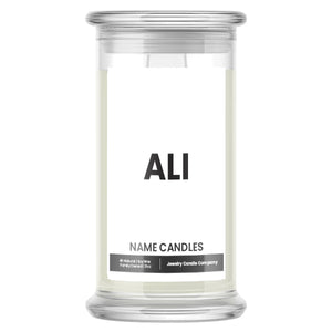 ALI Name Candles