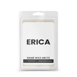 ERICA Name Wax Melts
