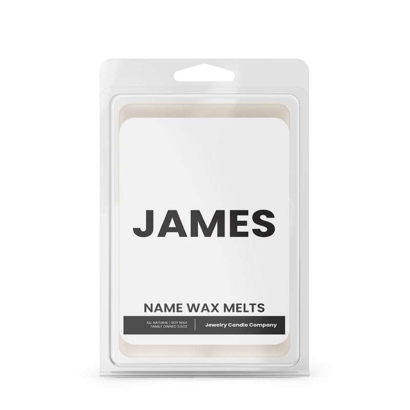 JAMES Name Wax Melts