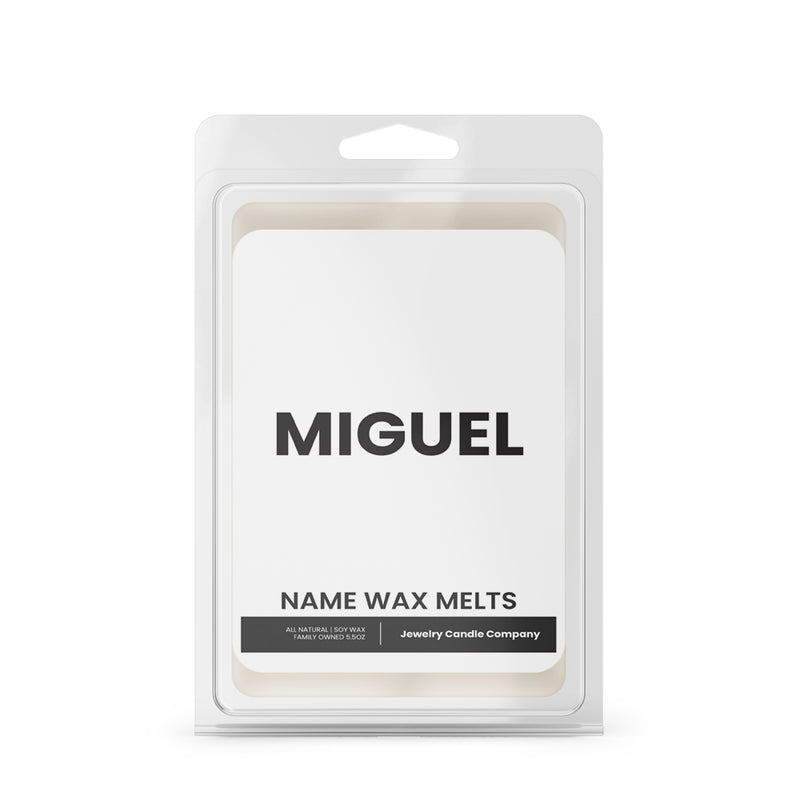 MIGUEL Name Wax Melts