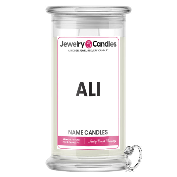 ALI Name Jewelry Candles