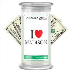 I Love MADISON Candle