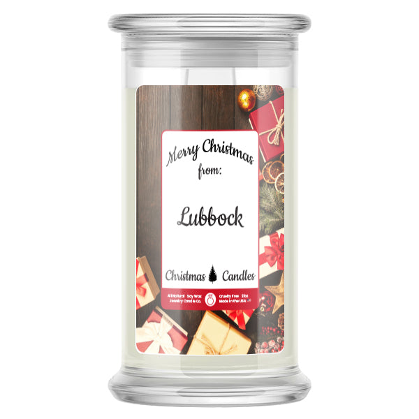 Merry Christmas From LUBBOCK Candles