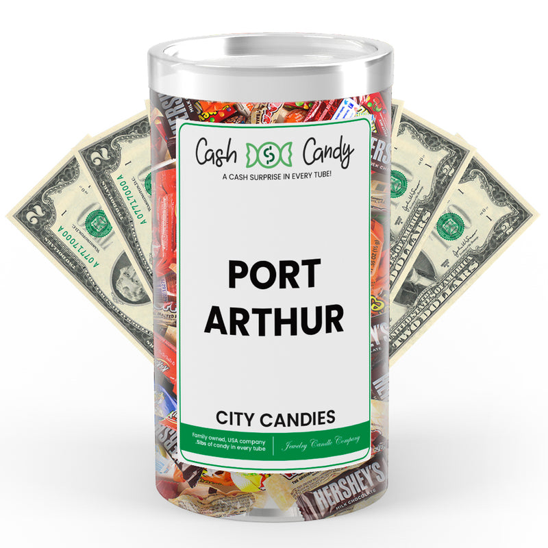 Port Arthur City Cash Candies