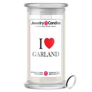 I Love GARLAND Jewelry City Love Candles