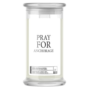 Pray For Anchorage Candle
