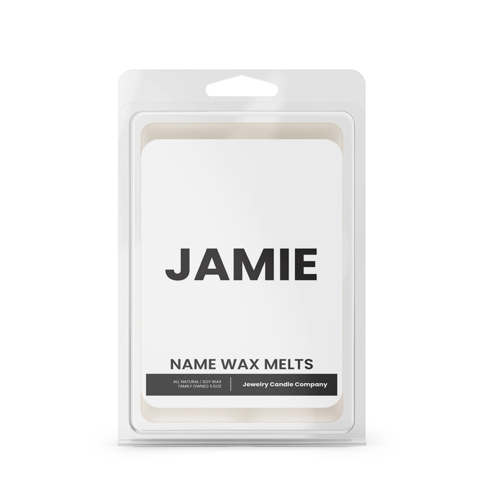 JAMIE Name Wax Melts
