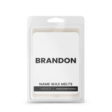 BRANDON Name Wax Melts