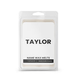TAYLOR Name Wax Melts