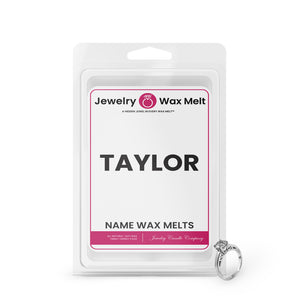 TAYLOR Name Jewelry Wax Melts