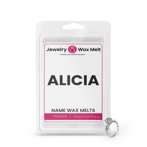 ALICIA Name Jewelry Wax Melts