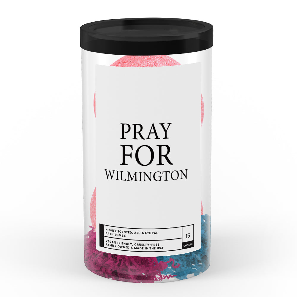 Pray For Wilmington  Bath Bomb Tube