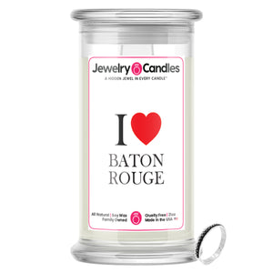 I Love BATON ROUGE Jewelry City Love Candles