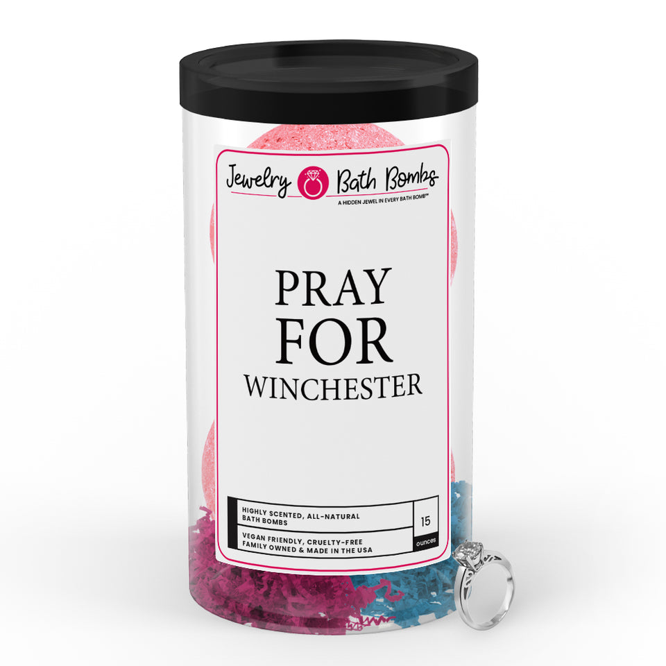 Pray For Winchester  Jewelry Bath Bomb