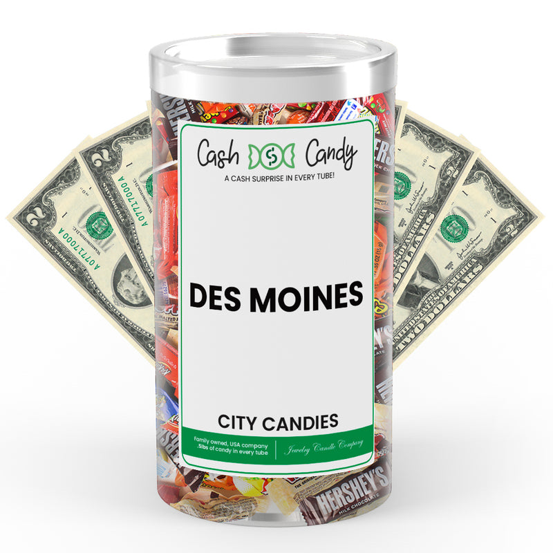 Des Moines City Cash Candies