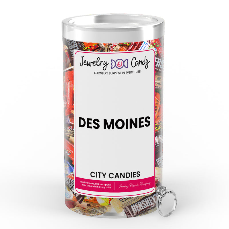 Des Moines City Jewelry Candies