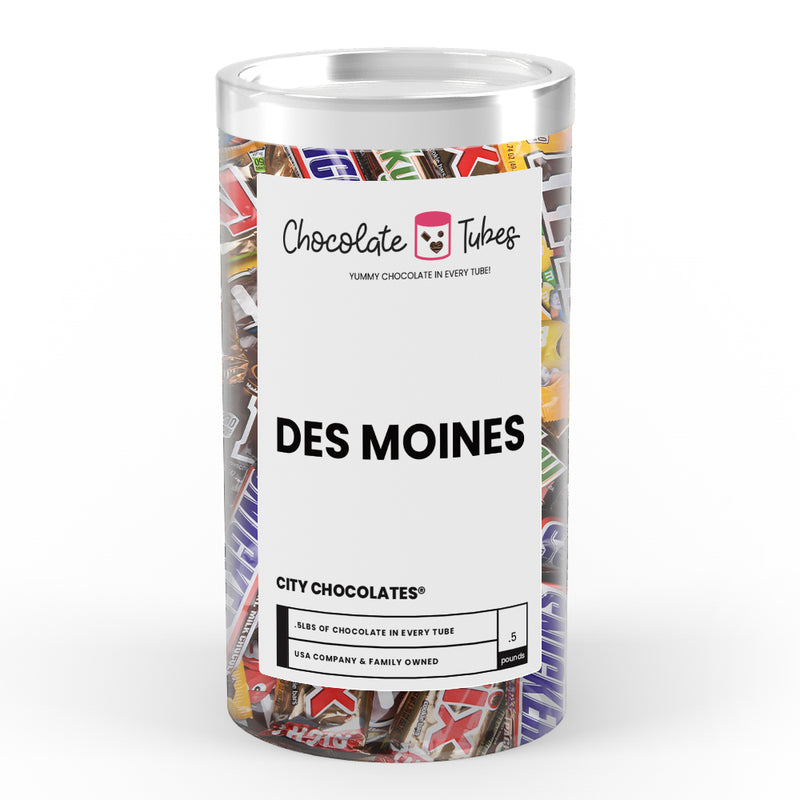 Des Moines City Chocolates