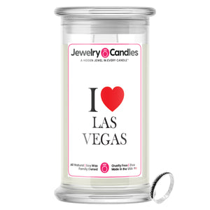 I Love LAS VEGAS Jewelry City Love Candles