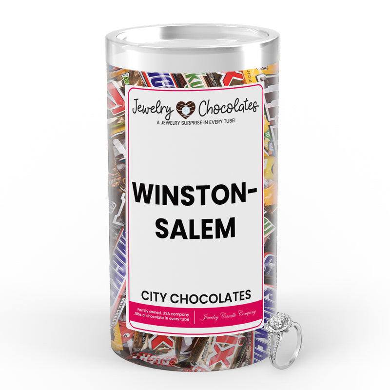 Winston-Salem City Jewelry Chocolates