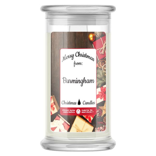 Merry Christmas From BURMINGHAM Candles