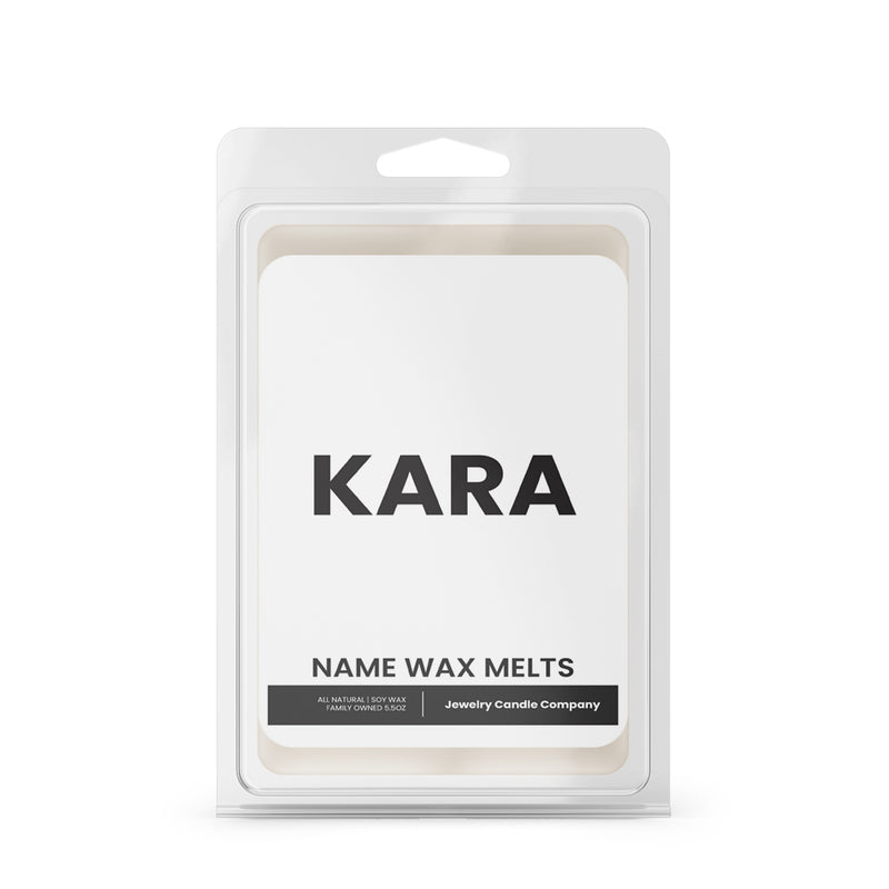 KARA Name Wax Melts