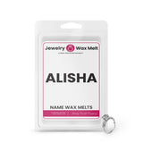 ALISHA Name Jewelry Wax Melts