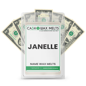 JANELLE Name Cash Wax Melts
