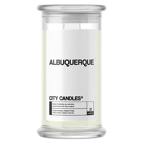 Albuquerque City Candle